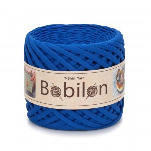 Bobilon ULTRAMARINE  t-shirt premium yarn Medium 7-9 mm przędza 100% bawełna