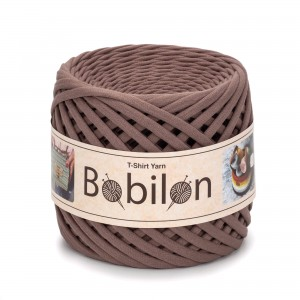 Bobilon COCOA t-shirt premium yarn  Medium 7-9 mm przędza 100% bawełna